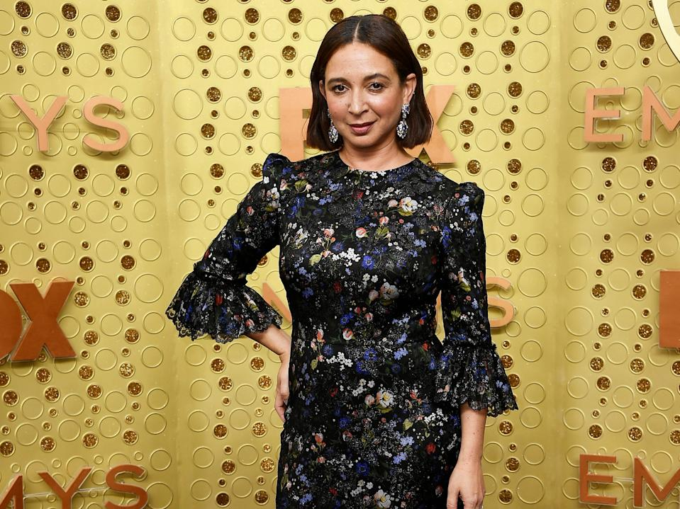 Maya Rudolph attends the 2019 Emmys