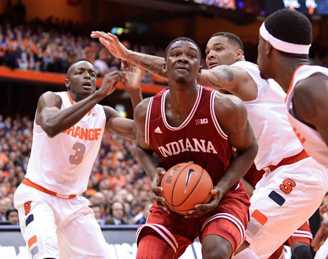 Indiana freshman Noah Vonleh leaning toward declaring for NBA draft