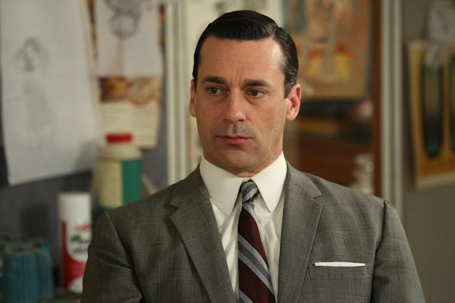 "Don Draper (Jon Hamm) in the ""Mad Men"" episode, ""Man With a Plan."""