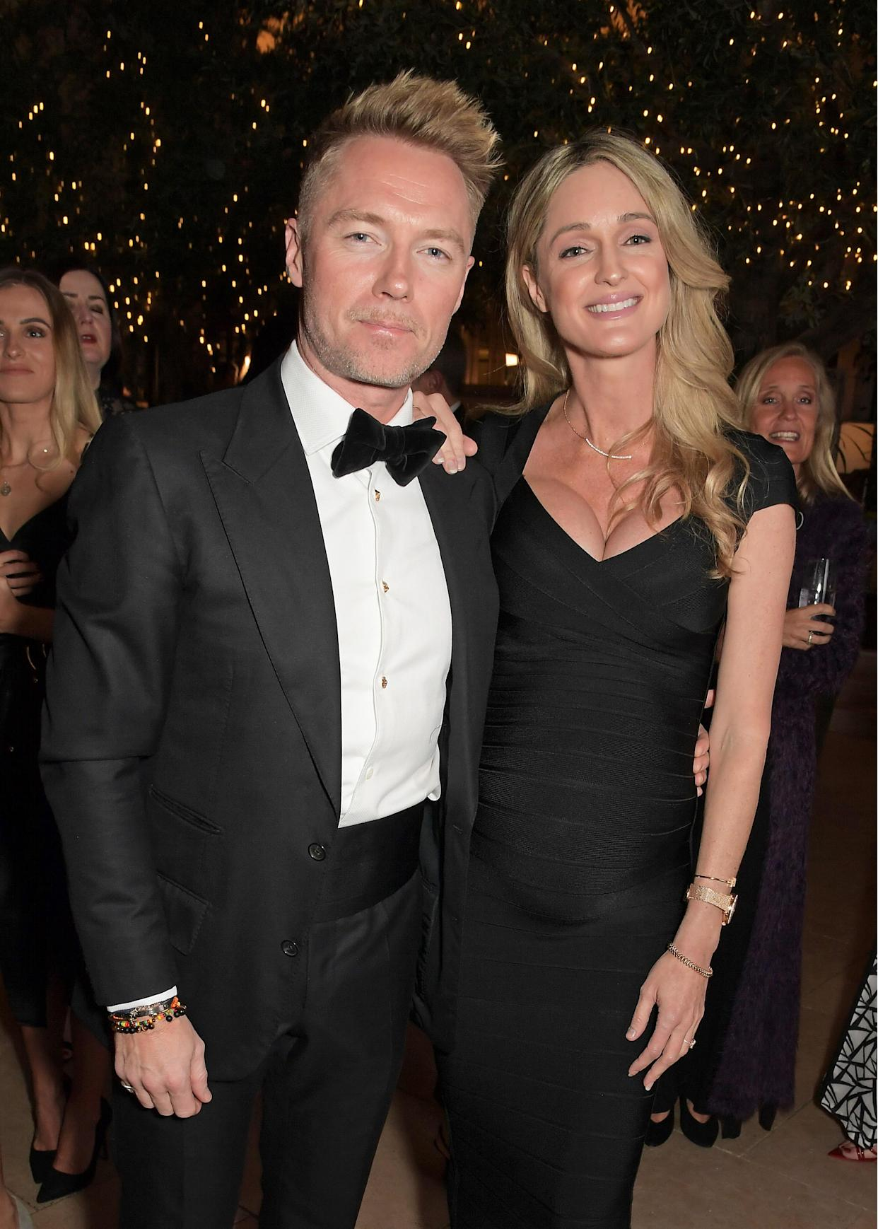 LONDON, ENGLAND - FEBRUARY 25: Ronan Keating (L) and Storm Keating attend the Positive Luxury Awards 2020 on February 25, 2020 in London, England. (Photo by David M. Benett/Dave Benett/Getty Images for Positive Luxury)
