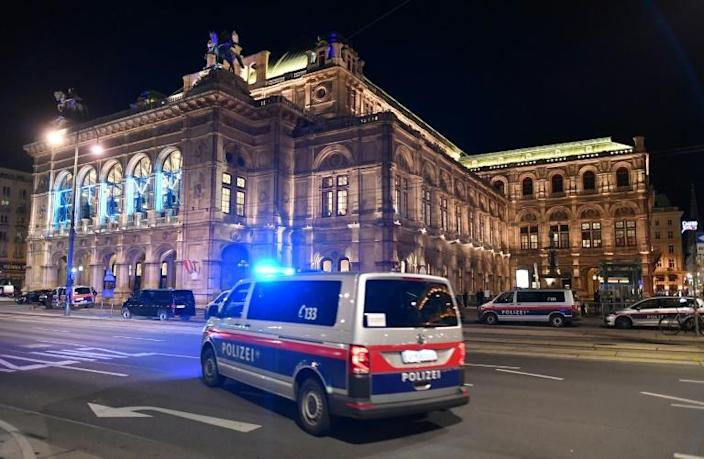 The attack took place near the opera house in Vienna
