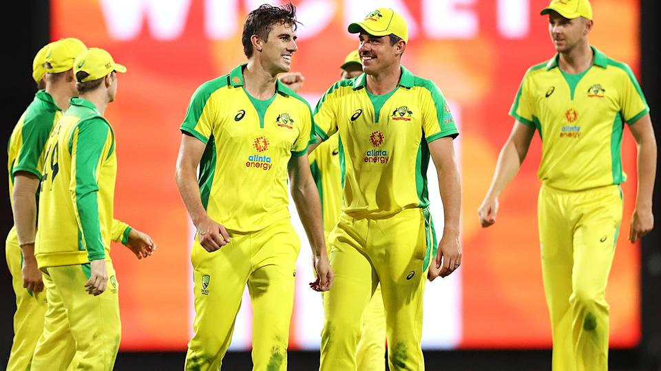 Australia will carry a slightly weaker side into tours of the West Indies and Bangladesh in the lead up to the T20 World Cup. (Photo by Cameron Spencer/Getty Images)