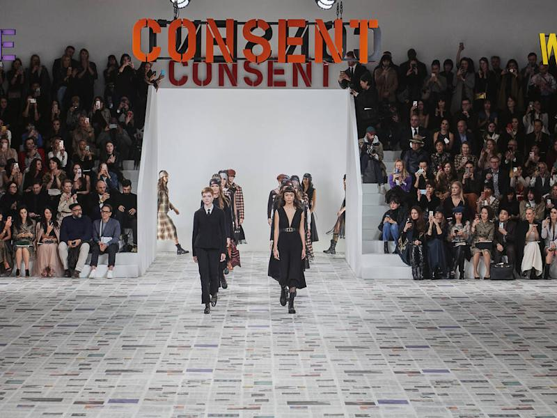 Dior incites call for female solidarity with fall 20 collection