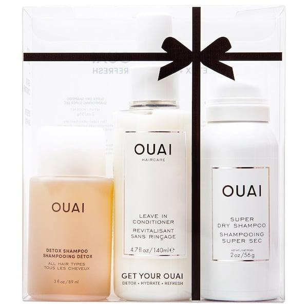 <p>Give them the gift of good hair days with this <span>Ouai Get Your Ouai Set</span> ($38).</p>