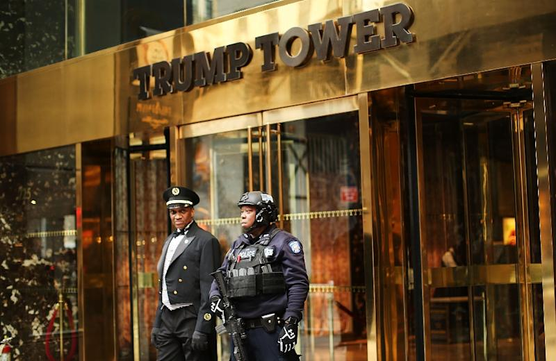 New York City expects to spend up to $146,000 a day on average for the police and $4.5 million annually for the fire department to protect First Lady Melania Trump and 11-year-old son Barron who are living at Trump Tower