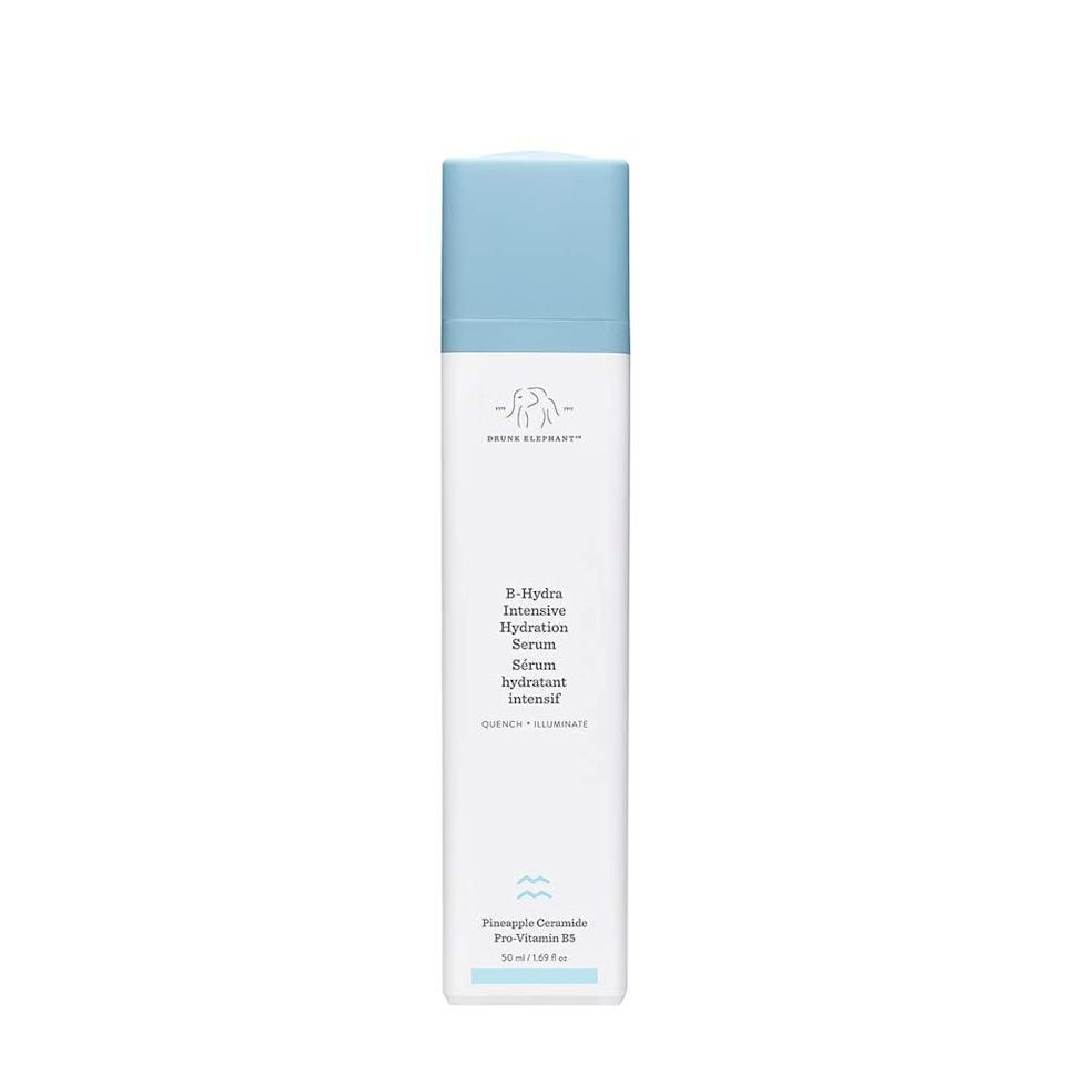 """<p>""""If it's 12 p.m. and I haven't oil blotted my face at least once, I'm having a good day. For as long as I can remember, my skin has been oily. With acne-prone skin, I've spent years searching for the best products to combat these issues but always failed, until recently. A little over a year ago I started hearing a lot of buzz around a newer brand, Drunk Elephant. I decided to give this <span> B-Hydra Intensive Hydration Gel </span> ($48) a try and I've never looked back. </p> <p>Initially, I get super nervous to try new products for the obvious reason of making my skin issues even worse. I made sure to do my research before making my purchase. I looked to Sephora's reviews because it's a great way to get unbiased opinions on what people are experiencing. I noticed a lot were saying that the gel texture was almost water-like and that's what sold me. Throughout the years of my turbulent skin problems and constantly testing new skincare products, I realized my face did not respond well to thick, heavy creams. Instead, it loves soaking up lightweight consistencies that feel thin and soft.</p> <p>The first day I tried it, I knew I'd made the right choice. After applying it, my skin feels wet at first with a relaxing cooling sensation, and within seconds, it dries, leaving my face feeling silky soft. As an added bonus, after a week my skin texture was more even and less red. I even found myself oil blotting less and doing way fewer makeup touch-ups throughout the day. </p> <p>My favorite part: the ingredients! I don't feel like I'm stuffing my face full of harmful chemicals. This cruelty-free product is formulated with clean and powerhouse ingredients like pro-vitamin B5 and a mix of pineapple, watermelon, apple, and lentil complexes, which provide long-lasting hydration. It doesn't just work on oily skin, either; according to other reviewers, the moisturizing gel works wonders on people who suffer from dry skin."""" - KJ</p>"""