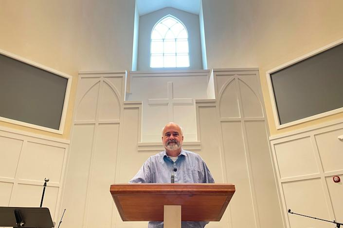 """""""When we say everybody's welcome, that means everybody,"""" says Pastor Jim Conrad of the Towne View Baptist Church in Kennesaw, Ga. The Southern Baptist Convention's executive committee voted to oust the church for allowing LGBTQ people to become members of its congregation."""