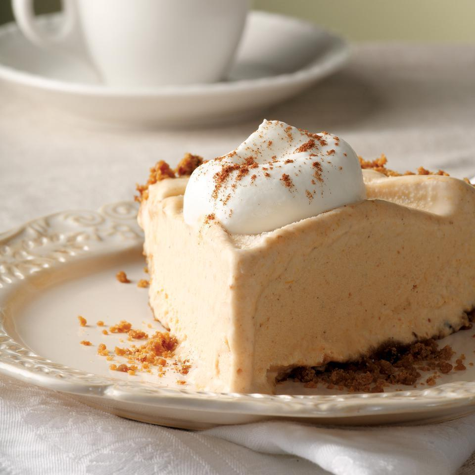 <p>While pumpkin pie deserves respect as a Thanksgiving icon, it's fun to shake up tradition. Surprise your family and friends with a frozen pie this year--it just might become one of their holiday favorites. No need to let them know how easy it is.</p>