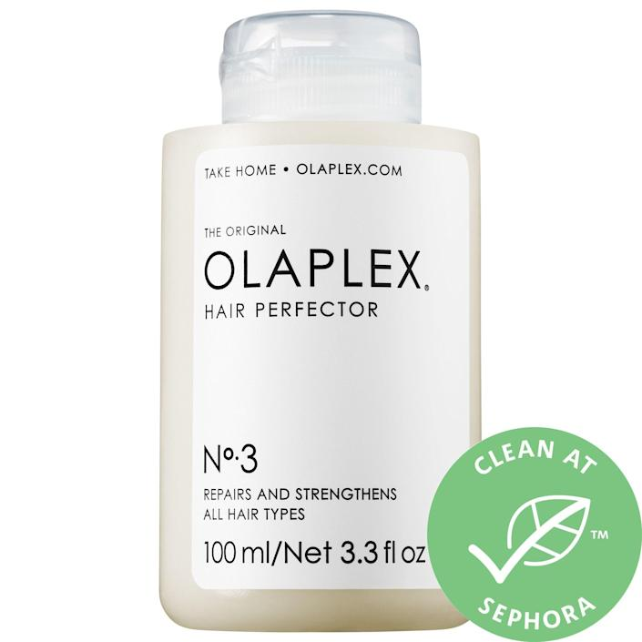 "<p><strong>Olaplex</strong></p><p>sephora.com</p><p><a href=""https://go.redirectingat.com?id=74968X1596630&url=https%3A%2F%2Fwww.sephora.com%2Fproduct%2Folaplex-hair-perfector-no-3-P428224&sref=https%3A%2F%2Fwww.townandcountrymag.com%2Fstyle%2Fbeauty-products%2Fg36096291%2Fsephora-vib-sale-spring-2021%2F"" rel=""nofollow noopener"" target=""_blank"" data-ylk=""slk:Shop Now"" class=""link rapid-noclick-resp"">Shop Now</a></p><p>$23.74</p><p><em>Original Price: $28</em></p>"