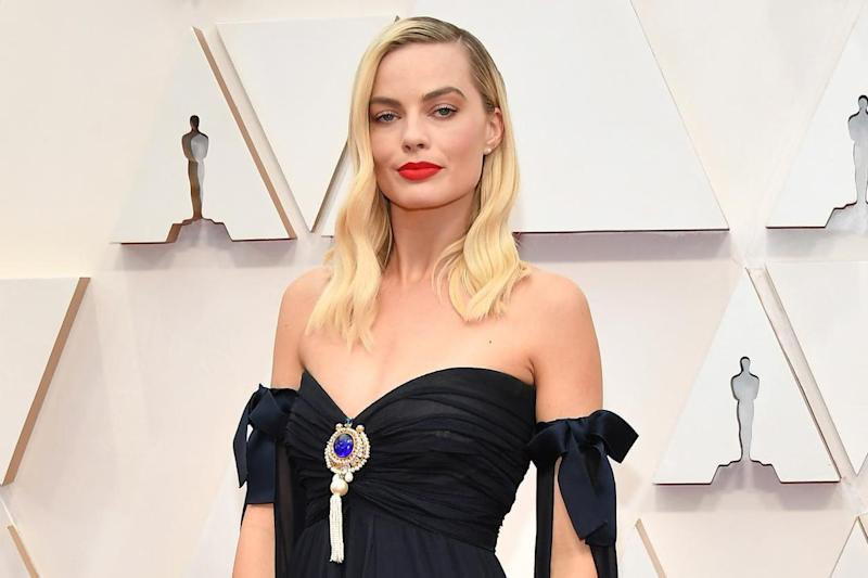 Margot Robbie at the Academy Awards on 9 February 2020: Amy Sussman/Getty Images