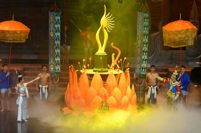 The IIFA Awards are typically glamorous occasions (AFP Photo/Indranil MUKHERJEE)