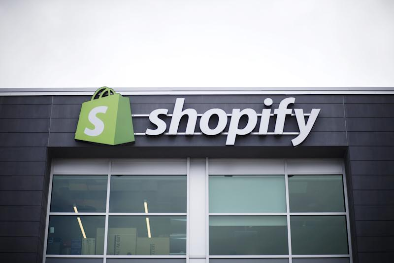 """(Bloomberg) -- Shopify Inc.'s biggest drop of 2019 shows the e-commerce stock is testing the limits of what investors are willing to pay for rapid revenue growth.The shares fell 8.9% in New York on Tuesday, their biggest drop since Dec. 14, after more than doubling from the start of the year. That run-up created more than $25 billion in market value as investors looked past rising competitive threats and focused on fast-growing sales and new online checkout products. The money-losing company's shares now trade at around 21 times estimated sales, more expensive by that measure than any technology stock in the S&P 500 Index.That's making Wall Street squeamish. At least five analysts have downgraded the company in the past two months. In almost every case, the lofty stock price was the top concern.""""We now see more limited upside to shares over the next 12 months,"""" Wedbush analyst Ygal Arounian said in a Tuesday note downgrading the stock to neutral from buy. He cited a """"premium valuation.""""What started as co-founder and Chief Executive Officer Tobi Lutke's effort to sell snowboards on the internet has grown into a business projected to generate more than $1.5 billion in revenue in 2019. In addition to online sales, Shopify now competes with companies like Square Inc. at the point of sale in brick-and-mortar stores. Last week, Ottawa-based Shopify said it plans to spend $1 billion on a chain of fulfillment centers that would pit it even more directly against Amazon.com Inc.Shopify's break-neck expansion has come at the cost of profitability. The company hasn't turned an annual profit on a GAAP basis and isn't projected to until 2020, according to analyst estimates.While investors have surely been attracted to Shopify for its revenue growth, which is projected to exceed 40% this year, they also prize its execution. The company hasn't missed sales estimates in the 16 quarters it has reported financial results as a publicly traded company.""""The reason I think the shares have"""