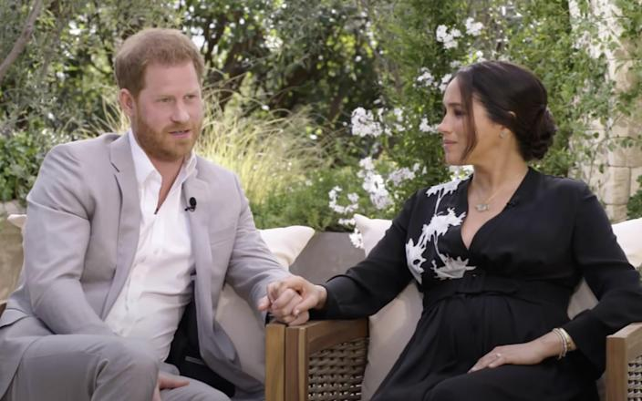 Prince Harry and Meghan opened up to Oprah about their relationship - CBS