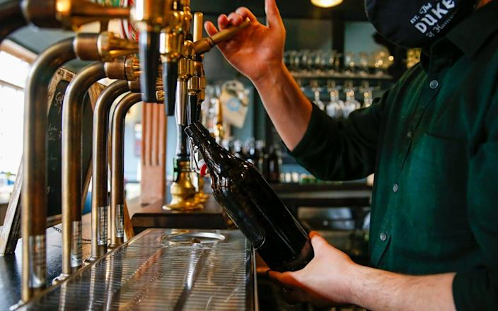 Takeaway-yay: A welcome clarification for pubs without beer gardens - Bloomberg