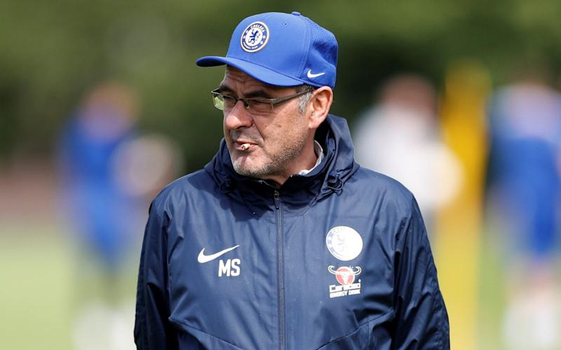 Sarri's unpolished approach has been a dramatic departure from the smartly turned-out Antonio Conte - Action Images via Reuters