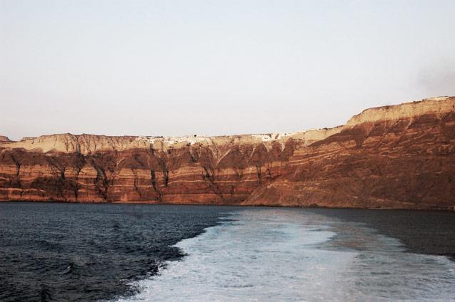 En route from Santorini to Chania