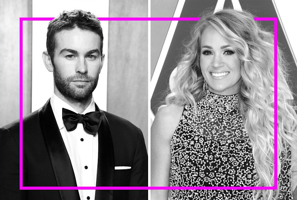 Chase Crawford and Carrie Underwood