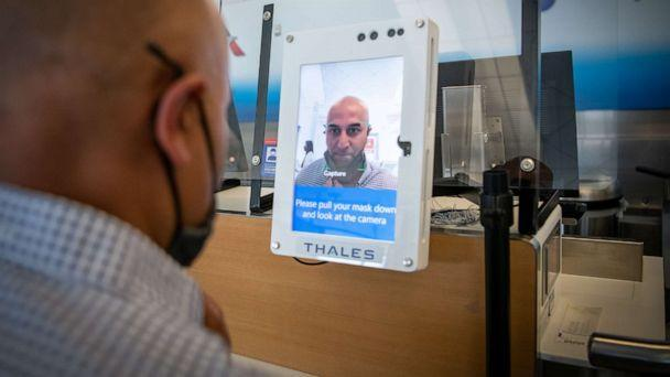 PHOTO: American Airlines is testing biometric boarding in light of COVID-19 concerns. It scans your face to confirm your identity without having to scan a boarding pass. (American Airlines)