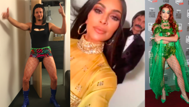 Kim Kardashian, Eric Andre & More Ring In Halloween With ...