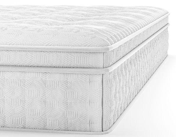 This mattress is thick—and comfy. (Photo: Zinus)