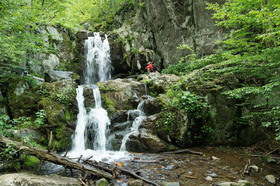 """<p><a href=""""https://www.nps.gov/shen/index.htm"""" rel=""""nofollow noopener"""" target=""""_blank"""" data-ylk=""""slk:Shenandoah National Park"""" class=""""link rapid-noclick-resp""""><strong>Shenandoah National Park</strong></a></p><p>This park is great even if you aren't into getting out and hiking. The spectacular 105-mile-long Skyline Drive has scenic viewpoints frequently where you can get out of your vehicle and be in for a visual treat. Plus, you are very likely to see bears in your travels (just keep your distance and stay in your car). </p>"""