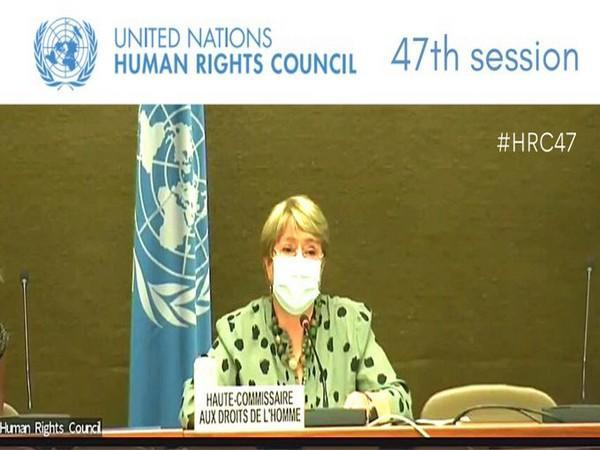 Michelle Bachelet, UN High Commissioner for Human Rights,