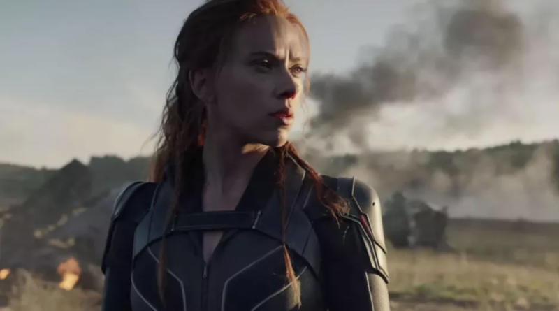 Scarlett Johansson's Black Widow on the battlefield (credit: Marvel Studios)