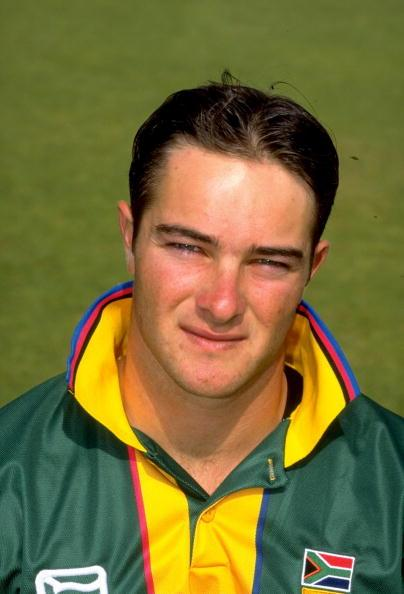 8 May 1999:  Portrait of Mark Boucher of South Africa. \ Mandatory Credit: Graham Chadwick /Allsport