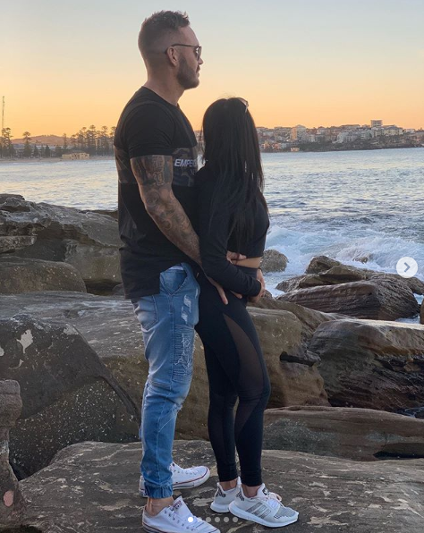 A photo of Married At First Sight's Cyrell Paule and Love Island's Eden Dally.