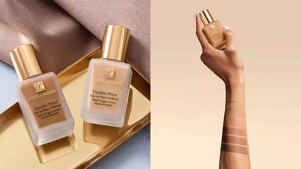 Get a full coverage finish with the Estée Lauder Double Wear Stay-in-Place Makeup.