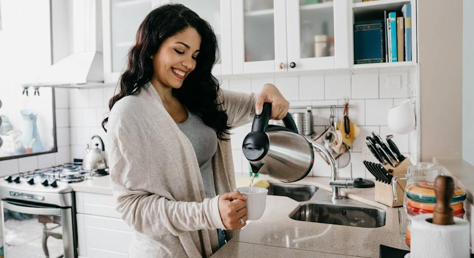 Never have to wait to make a cuppa again thanks to this smart kettle. (Getty Images)