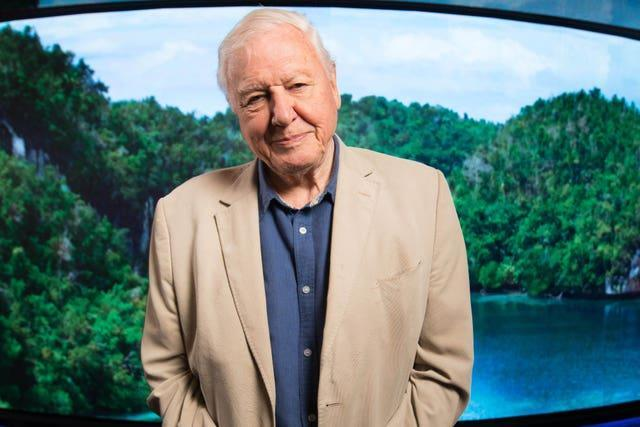 Sir David Attenborough has also received the vaccine