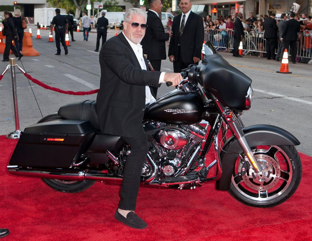 """Ron Perlman attends the """"Sons of Anarchy"""" Season 5 premiere screening at Westwood Village on September 8, 2012 in Los Angeles, California."""
