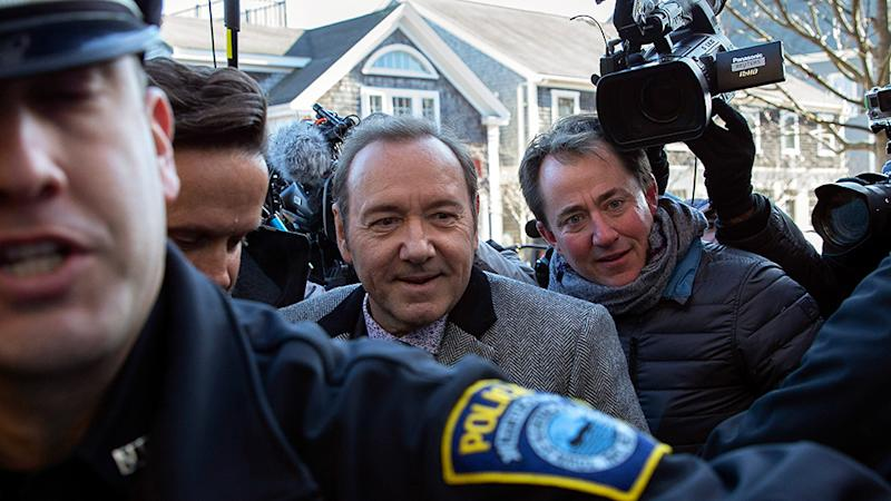 Prosecutors drop assault case against actor Kevin Spacey