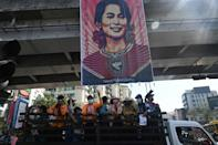 Suu Kyi has not been seen since she was detained on February 1, the same day a new parliament was supposed to convene