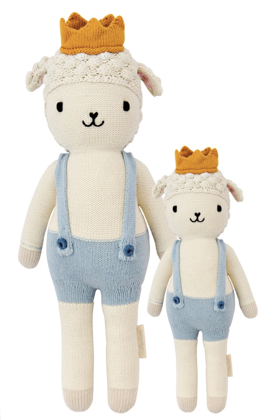 """<p><strong>Cuddle and Kind</strong></p><p>cuddleandkind.com</p><p><strong>$55.00</strong></p><p><a href=""""https://cuddleandkind.com/collections/hand-knit-dolls/products/sebastian-the-lamb"""" rel=""""nofollow noopener"""" target=""""_blank"""" data-ylk=""""slk:SHOP IT"""" class=""""link rapid-noclick-resp"""">SHOP IT</a></p><p>I don't have kids, but this is already on my wishlist to get for myself and my friends when little ones start arriving. All the premium cotton dolls are handcrafted in Peru and with each purchase of a doll, the brand helps provide <a href=""""https://cuddleandkind.com/pages/1-doll-10-meals"""" rel=""""nofollow noopener"""" target=""""_blank"""" data-ylk=""""slk:10 meals to children"""" class=""""link rapid-noclick-resp"""">10 meals to children</a> in need in North America and around the world. </p>"""