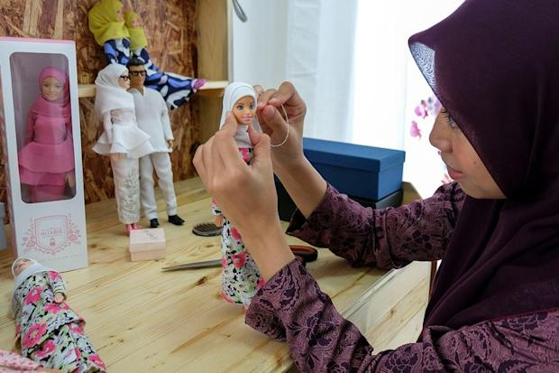 Siti Sumarni Suhaimi's 'Myhijabie' dolls are garnering steady support from countries such as Brunei, Switzerland and Turkey.