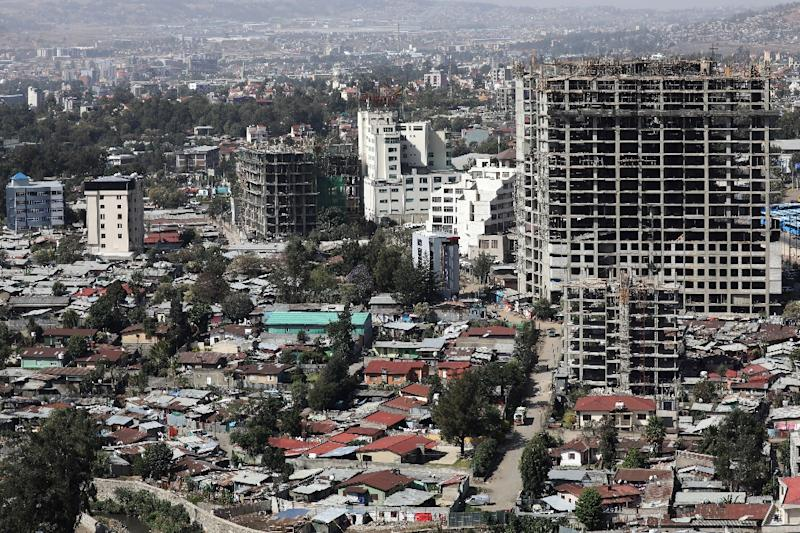 Addis Ababa has become a bustling, fast-changing city where buildings have shot up, construction is everywhere and greenery scarce