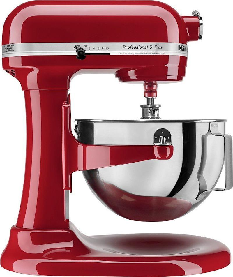 "Regularly: $499.99<br /><strong><a href=""https://www.bestbuy.com/site/kitchenaid-kv25g0xer-professional-500-series-stand-mixer-empire-red/4598501.p?skuId=4598501&ref=199&loc=6eKDhEiPIsQ&acampID=1&siteID=6eKDhEiPIsQ-ilJhWVb5MOM0FYY70ttJqw"" target=""_blank"">Black Friday: $199.99</a></strong><br />(Savings: $300)"