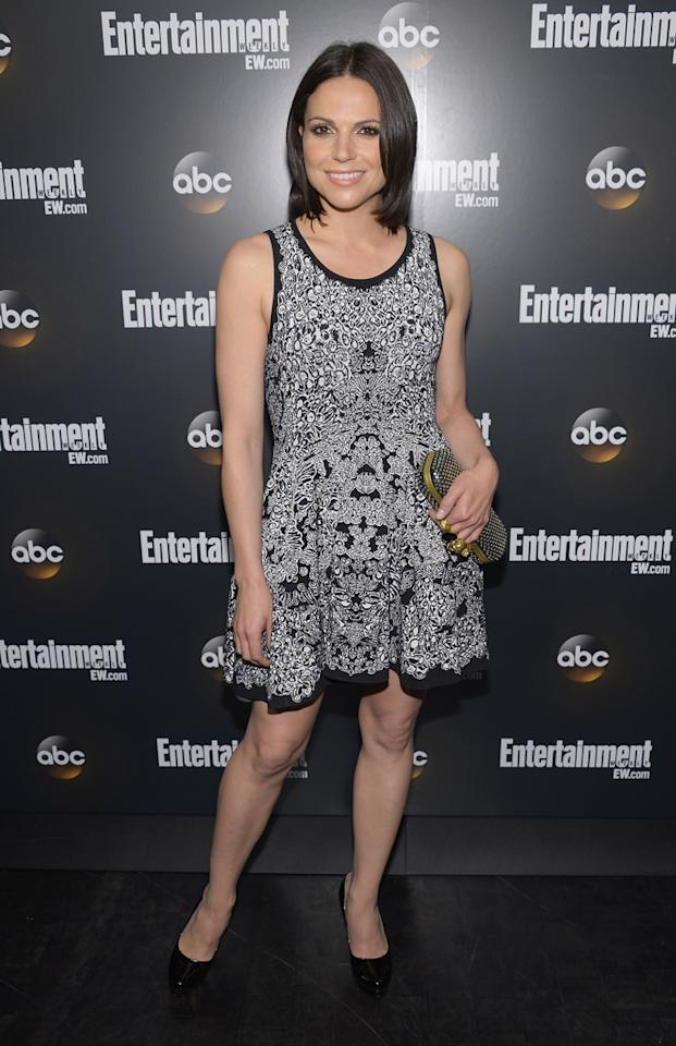 "Lana Parilla (""Once Upon a Time"") attends the Entertainment Weekly and ABC Upfront VIP Party at Dream Downtown on May 15, 2012 in New York City."