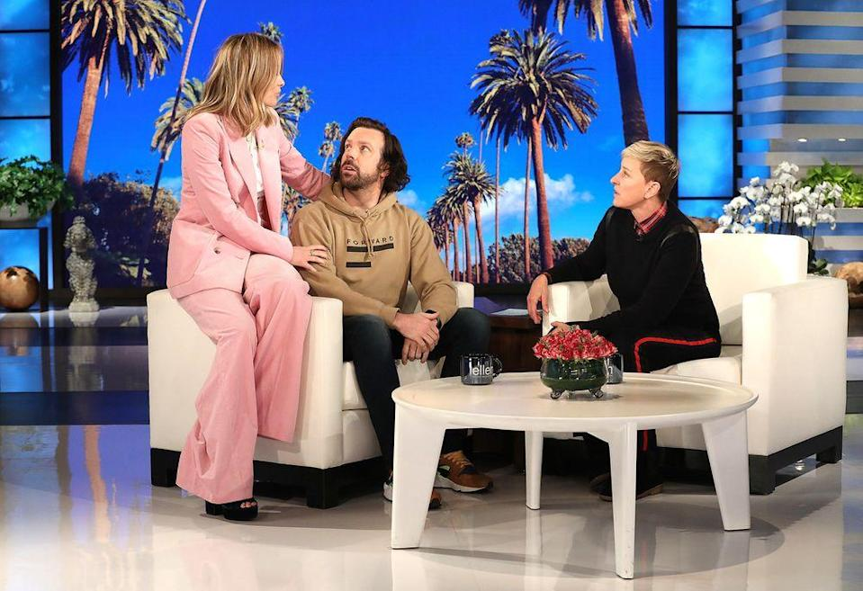 Olivia Wilde, Jason Sudeikis and Ellen DeGeneres