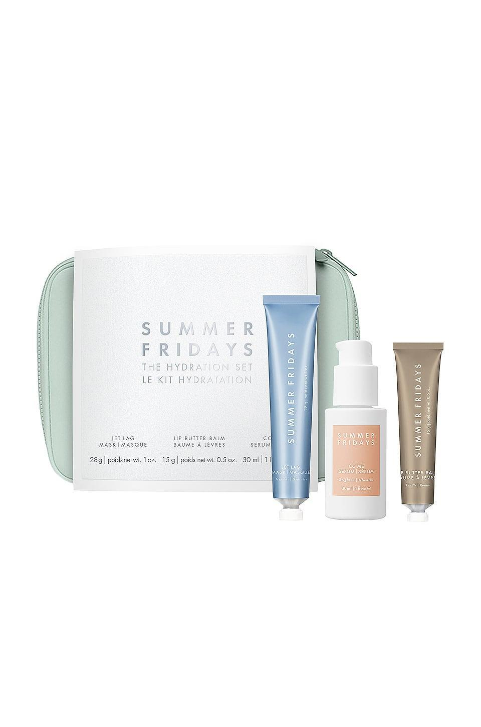 <p>Give them the gift of glowing skin with this <span>Summer Fridays Hydration Set</span> ($75).</p>