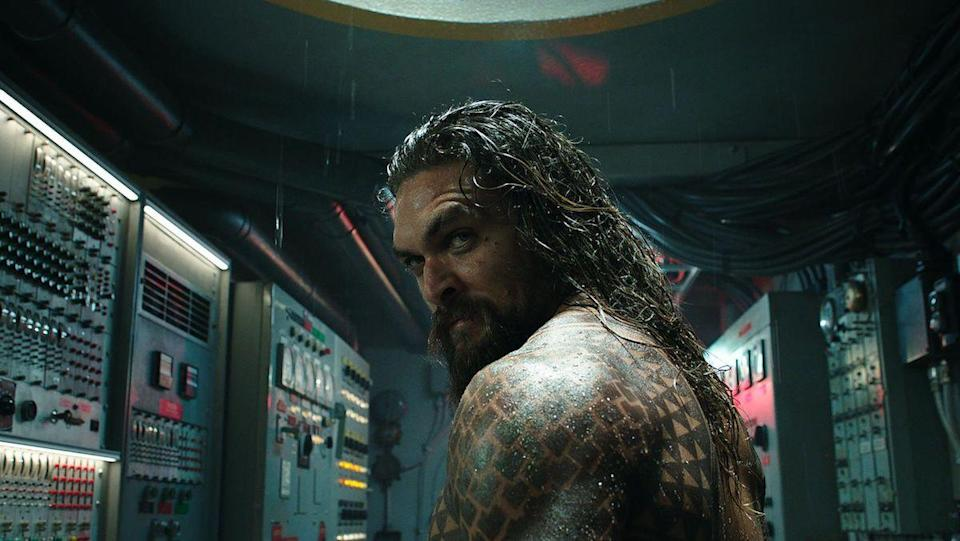 Jason Momoa as Arthur Curry/Aquaman who will feature in Aquaman and the Lost Kingdom