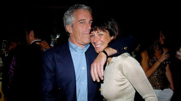 PHOTO: Jeffrey Epstein and Ghislaine Maxwell poses for a photo at Cipriani Wall Street in this March 15, 2005, file photo in New York. (Patrick McMullan via Getty Image, FILE)
