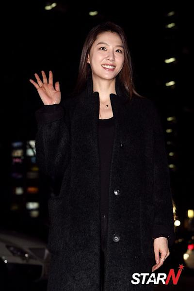 [StarN Focus] Seo Ji Hye attends ending party of SBS drama 'Punch'
