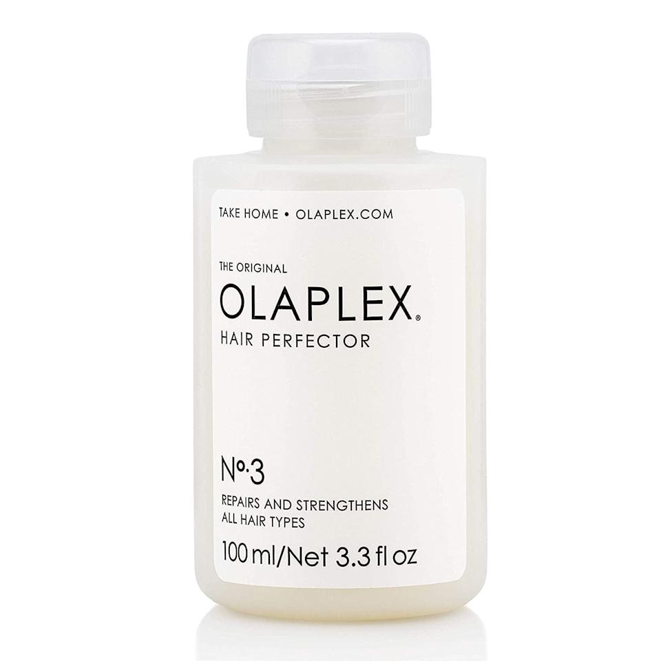 <p>If you have damaged or color-treated hair, the <span>Olaplex Hair Perfector No. 3 Repairing Treatment</span> ($28) has got you covered. A little bit will nourish your hair from root to tip.</p>