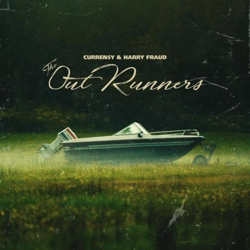 currensy harry fraud outrunners stream artwork Curren$y and Harry Fraud Reconnect On New Collaborative Project The OutRunners: Stream