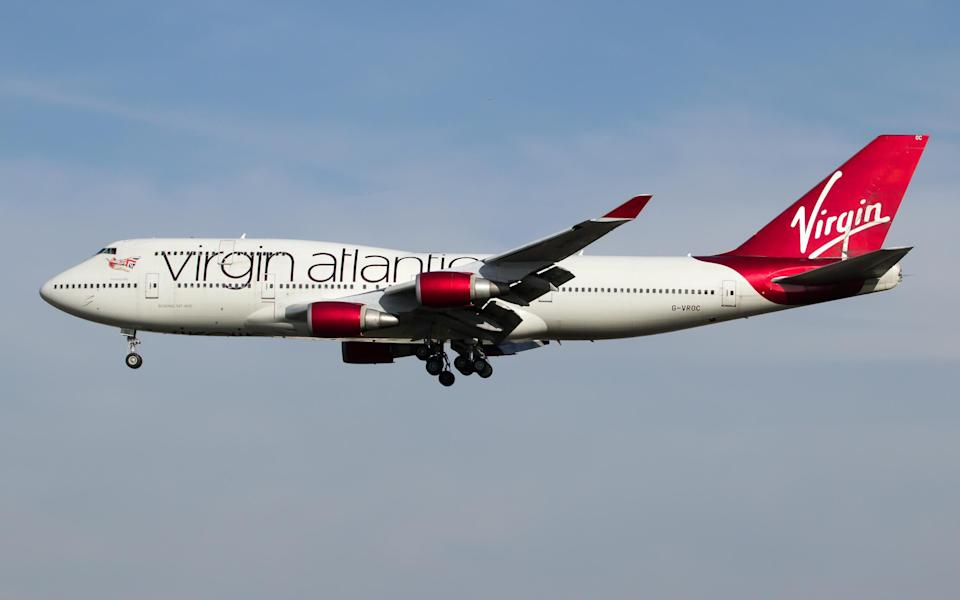 virgin boeing 747 - Getty