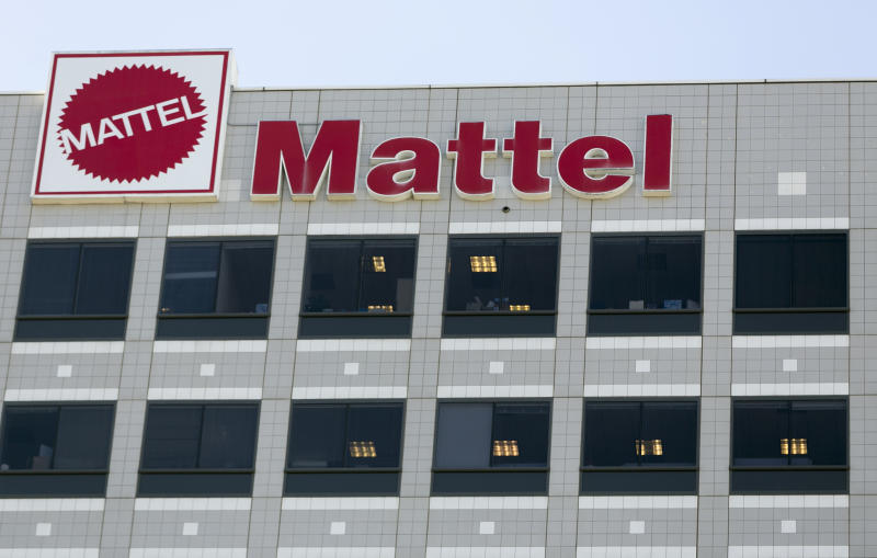 Mattel stock soars on report of Hasbro takeover offer