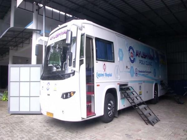 Mobile medical clinic launched by Ernakulam Karayogam. (Photo/ANI)